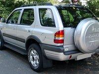 Husa Roata rezerva Opel Frontera B 1991 2004 Gri si Negru