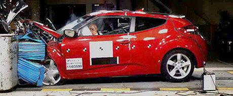 Hyundai Veloster - cea mai sigura masina din clasa sa