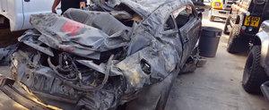 Imagini de groaza. Cum se vede de la bordul unei masini de 1800 CP un accident la peste 320 km/h