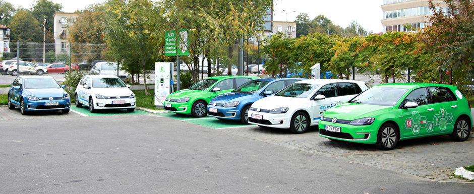 In sfarsit, traversarea Romaniei cu o masina 100% electrica este posibila