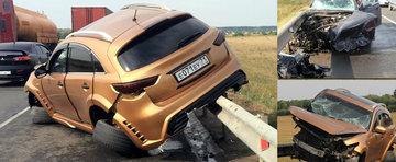 Incredibil, dar adevarat: Nimeni nu a fost ranit in urma acestui accident!