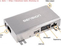 Interfata Dension 500 adaptor mp3 USB IPOD IPHONE pentru Audi BMW Mercedes