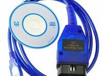 Interfata diagnoza auto VAGCOM USB KKL 409.1 sigilata