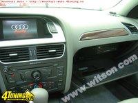 Interfata WITSON Dedicata Audi A4 B8 2008 2011 Dvd Gps Carkit Usb MODEL 2012