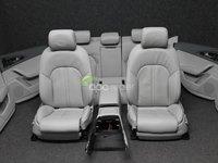 Interior Complet gri Audi A6 4G Break ( kombi) Scaune piele Confort Originale
