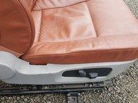Interior deosebit, piele coniac BMW E60