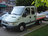 Iveco Daily 2.8TD Doka Pritsche 2000