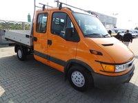 IVECO Daily 35S13 Clima camioneta autoutilitara Lada + Cabina Dubla