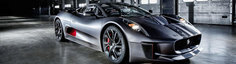 Jaguar prezinta in actiune si detaliu conceptul C-X75