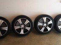 "Jante 17"" 5x112 AZW VW/Seat/Skoda/Audi + Anvelope Michelin PSS3 235/45/R17"