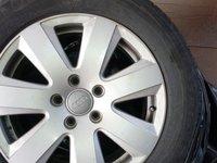 Jante aliaj Audi R16 + cauciucuri de iarna