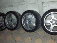 """Jante Aliaj BMW 17"""" 5x120 8J ET 35 cu cauciucuri 225/45/17"""