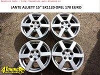 JANTE ALUETT 15 5X110 OPEL