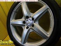 Jante AMG 18 Cu Anvelope Mercedes CLS W218 Originale 18 S M Clk E KLASSE ROTI spate 285 35 R18 fata 255 40 R18