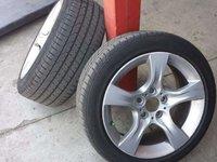 """Jante BMW 17"""" style 339 - originale + pneuri Pirelli PZero"""