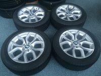 Jante BMW Originale X3 Cu Anvelope R18 Pirelli P7 RFT Vara, Oferta !