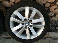 Jante BMW style 141 pe 17 cu anvelope vara 7 mm