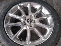 JANTE ORIGINALE FORD MUSTANG 8X18 -MADE IN USA - ANVELOPE IARNA NOI DUNLOP SPORT 3D-235/50/18