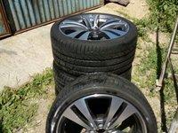 jante originale mercedes + anvelope vara pirelli 19 inches rulate 7500 km