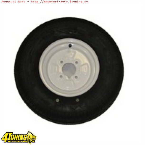 JANTE REMORCI PLATFORME RULOTE R8 R10 R12 R13 R14 R15