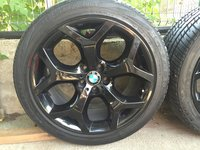 Jante / roti BMW X6 / X5 plus anvelope noi 275 40 R20 / 315 35 R20