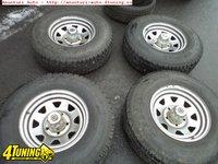 Jante Suzuki Vitara Jimny Samurai 16inch anvelope iarna 235 85 16 stare foarte buna