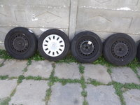 Jante tabla VW golf 5,6 ,7  cu anvelope vara 195 65 15 CONTINENTAL