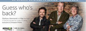 Jeremy Clarkson, Richard Hammond si James May revin pe TV-ul tau din 2016