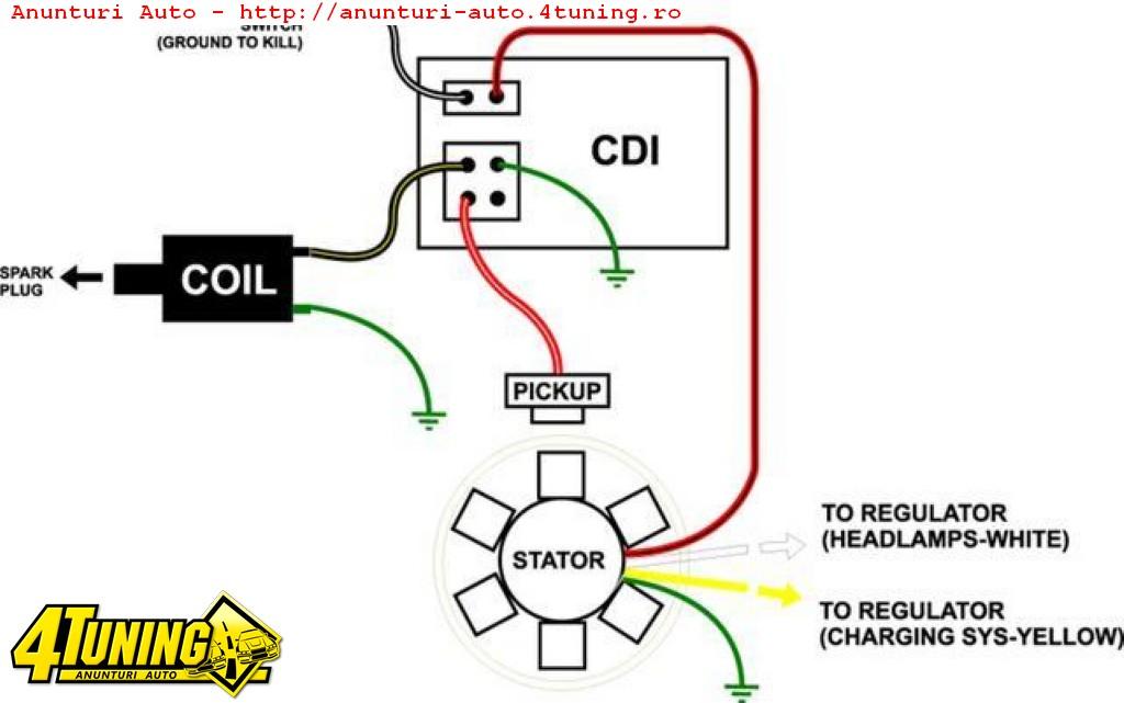 Схема китайского коммутатора для скутера