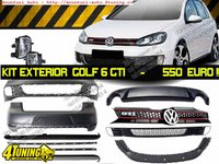 Kit Exterior GOLF 6 GTI COMPLET 549 EURO