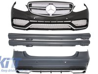 Kit exterior Mercedes 212 E-Class Facelift 2013 - up E63 AMG Design