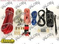 Kit Instalare Montaj Cabluri Pentru Amplificator Statie Audio Auto De Putere Subwoofer Nou Ieftin