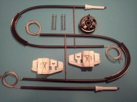 Kit reparatie macara geam actionat electric Peugeot 206 model 2/3/4/5 usi pt an fab 98 03 fata