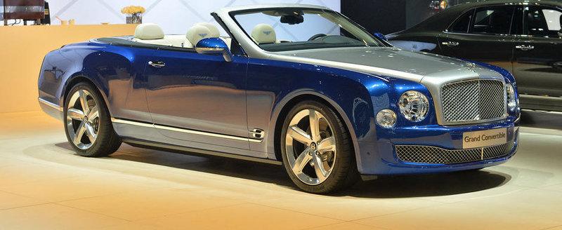 LA Auto Show 2014: Bentley Grand Convertible ne serveste luxul in aer liber