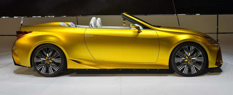 LA Auto Show 2014: Lexus LF-C2 Concept aduce o pata uriasa de culoare