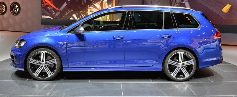 LA Auto Show 2014: VW Golf R Variant promite 300 CP si pana la 1.620 litri