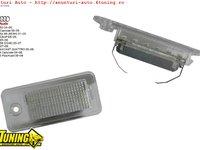 Lampa numar LED Audi Q7 A3 A4 A6 A8 RS4 RS6 S6