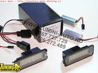 Lampi numar inmatriculare LED SMD dedicate VW Golf4 5 6 7 Passat B6 CC