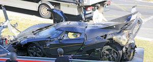 Legendarul Nurburgring Nordschleife mai face o victima: Koenigsegg One:1