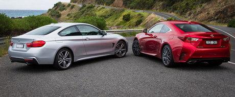 Lexus crede ca noul RC350 e mai tare decat BMW 435i. Argumentele japonezilor