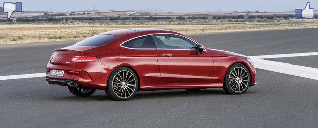 LIKE ori DISLIKE: Dezbatem in detaliu noul Mercedes C-Class Coupe
