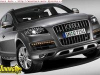 Lumini de zi cu semnalizare pentru Audi Q7 2009 Grila cu lumini de zi incorporate