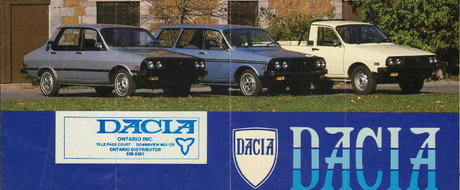 Marketingul marcii Dacia din 1968 si pana azi