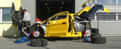Masina de raliu hibrida: Sbarro SPARTA de 407 cp