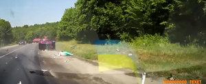 Masina Smart, soferita proasta: accident aproape mortal din cauza vitezei excesive