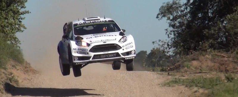 Masinile zburatoare din WRC si spectatorii neinfricati