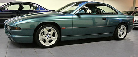 Meniul Zilei: Ce-ai zice de un BMW 850 CSi cu doar 35000 km la bord?