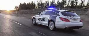 Mercedes CLS Shooting Brake pentru politia finlandeza