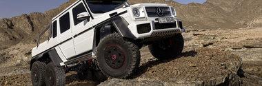 Mercedes G63 AMG 6x6: Asa arata off-roader-ul suprem - GALERIE FOTO AICI!