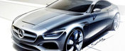Mercedes publica prima imagine a noului S-Class Coupe